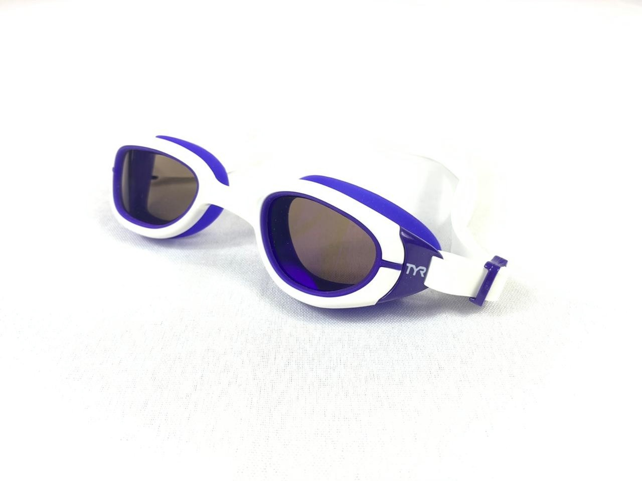 Óculos Natação Tyr Special Ops 2.0 Small Branco e Azul