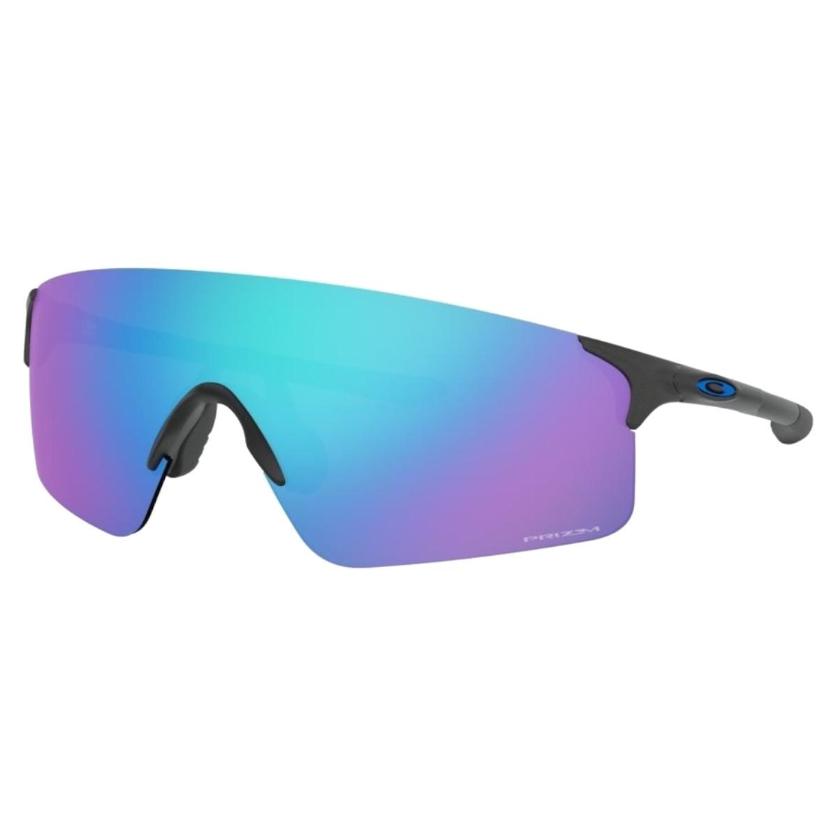 Óculos Oakley Evzero Blades Steel Prizm Sapphire Iridium