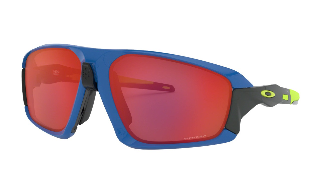Óculos Oakley Field Jacket Saphire Prizm Trail Torch