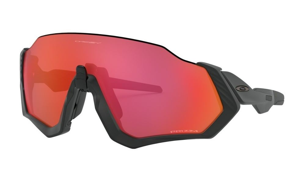 Óculos Oakley Flight Jacket Matte Black Prizm Trail Torch
