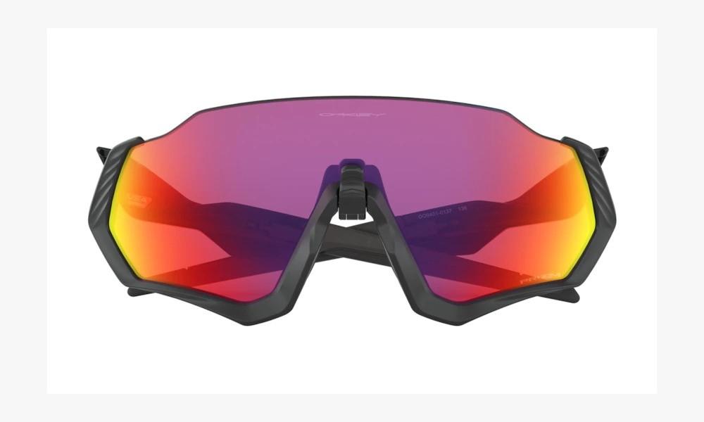 Óculos Oakley Flight Jacket Matte Blk Polishe Blk Prizm Road