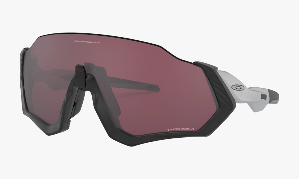 Óculos Oakley Flight Jacket Matte Silver Prizm Road Black
