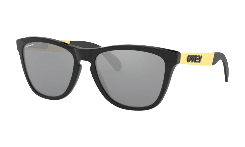 Óculos Oakley Frogskins Mix Polished Black Prizm Black Irid