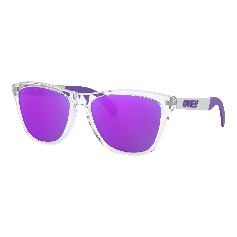 Óculos Oakley Frogskins Mix Polished Clear Violet Iridium