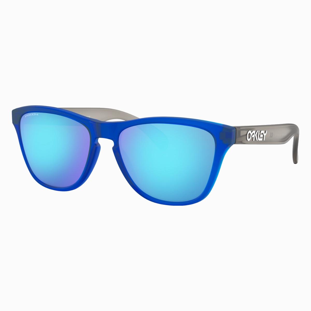 Óculos Oakley Frogskins Xs Matte Translucid Prizm Saphire