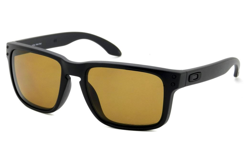 Óculos Oakley Holbrook Matte Black Bronze Polarizado