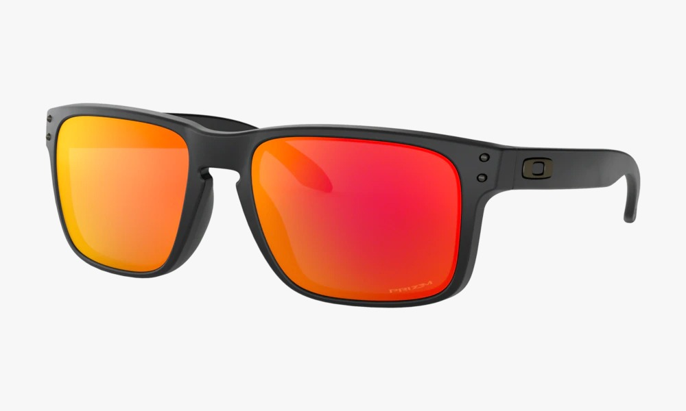 Óculos Oakley Holbrook Matte Black Prizm Ruby