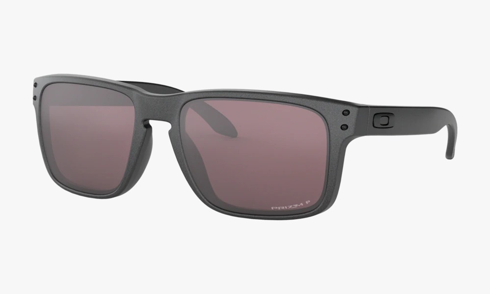 Óculos Oakley Holbrook Steel Prizm Daily Polarized