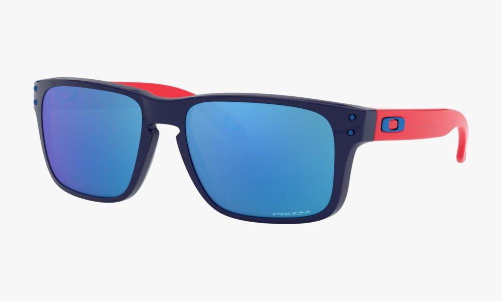 Óculos Oakley Holbrook Xs Polished Navy Prizm Sapphire Iridi