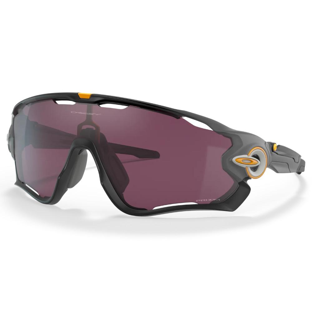 Óculos Oakley Jawbreaker Black Grey Fade Prizm Road Black
