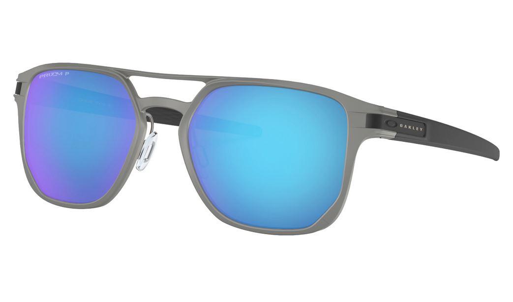 Óculos Oakley Latch Alpha Matte LG GM Prizm Sapphire Polar