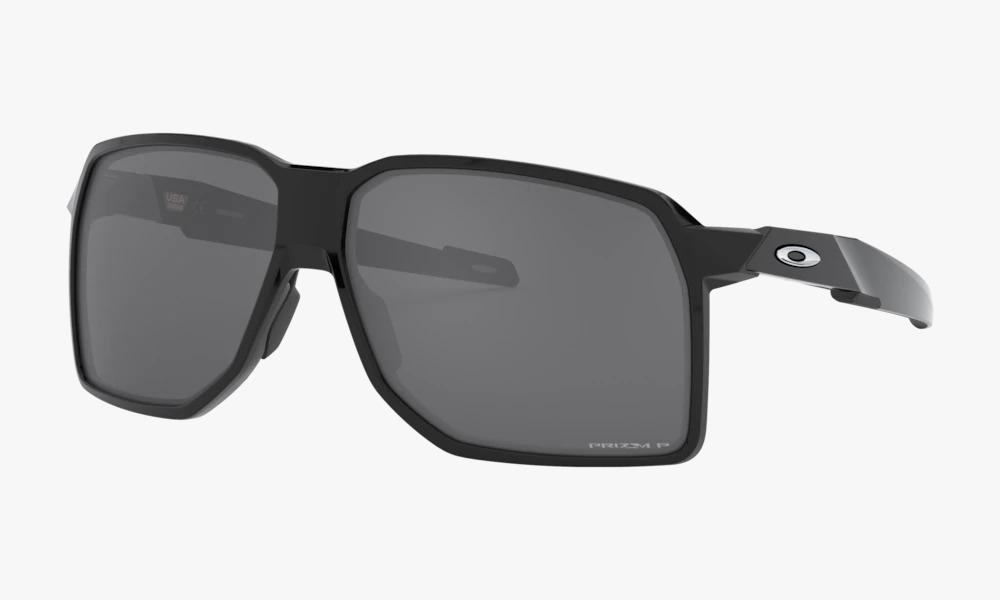 Óculos Oakley Portal Polished Black Prizm Black Polarizado