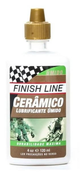 Óleo Lubrificante Finish Line Cerâmico 120ml Úmido