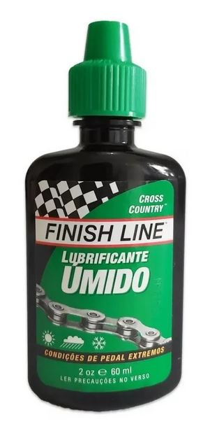 Óleo Lubrificante Finish Line Para Bike Úmido 60 ml