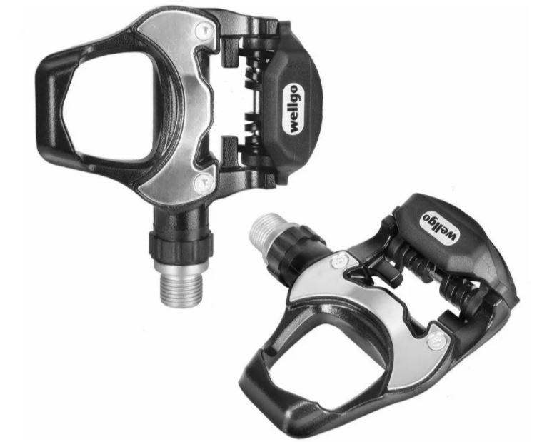 Pedal Speed Triathlon Wellgo R251 R540 9/16 Com Taquinho