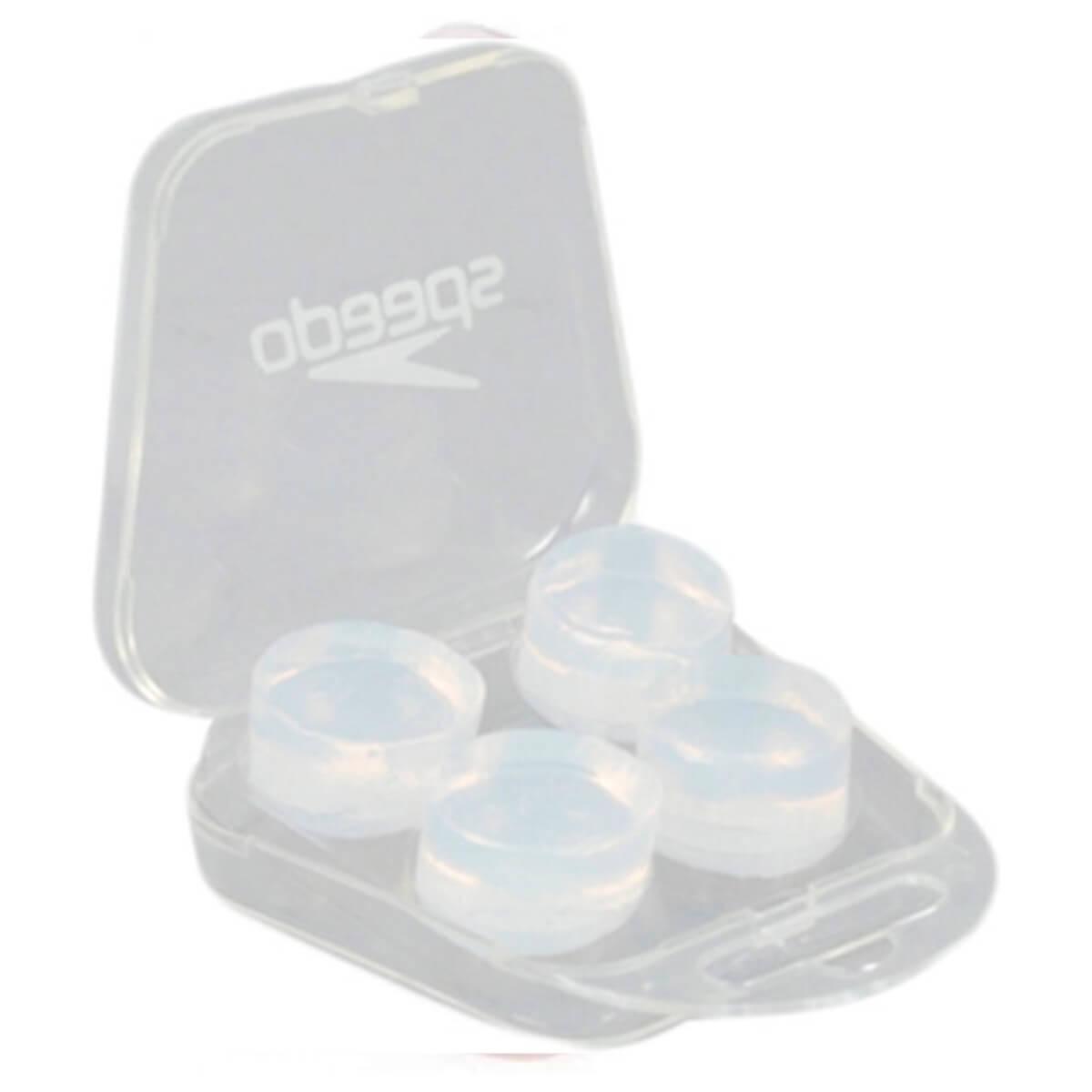Protetor de Ouvido Soft Earplug Speedo Transparente