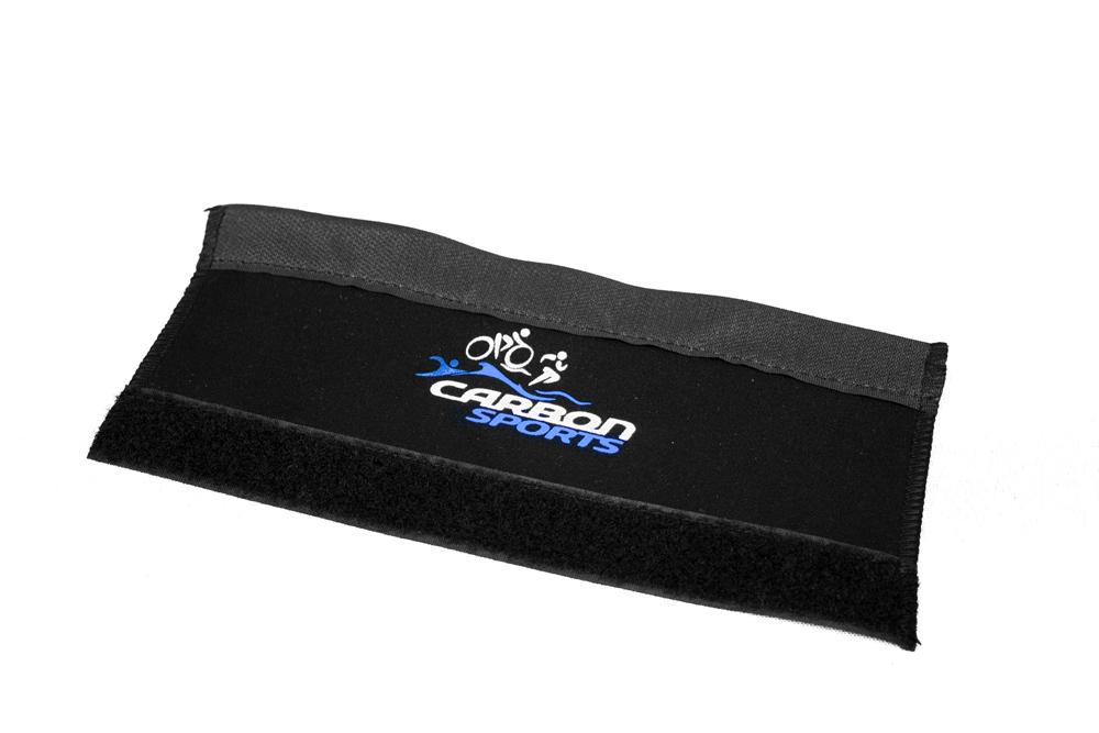 Protetor de Quadro Para Corrente Neoprene Carbon Sports 10cm