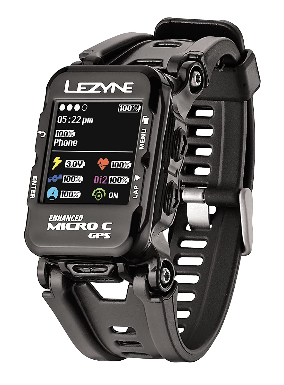 Relógio com Gps Lezyne Micro C Smart Watch Bluetooth Ant+