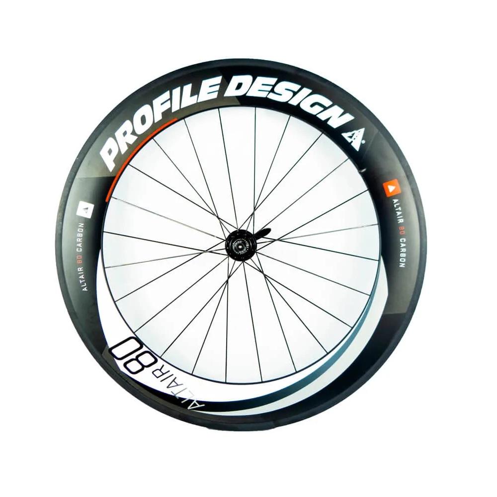 Roda Traseira Profile Design Altair 80 Full Carbon Clincher