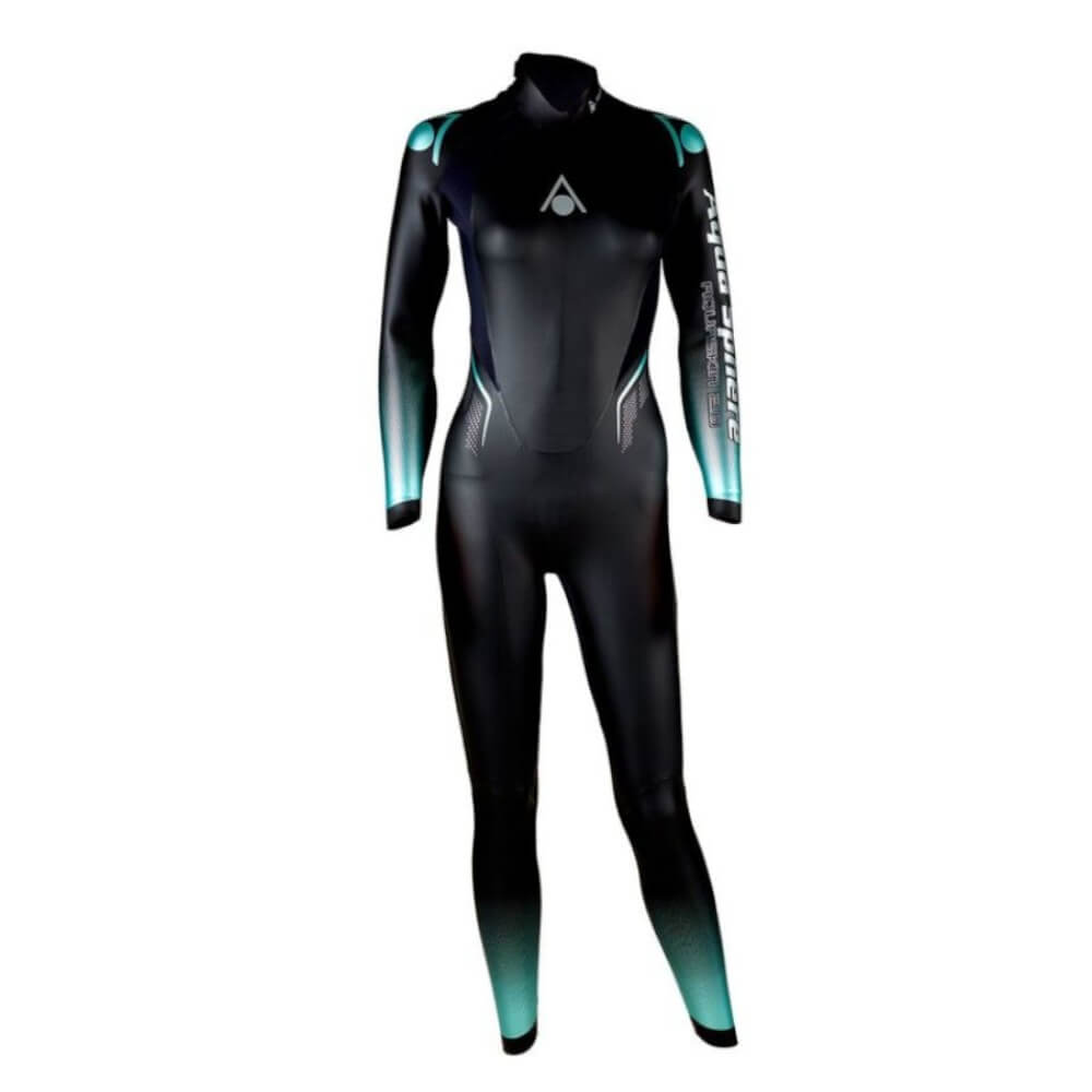Roupa de Borracha Aqua Sphere Aqua Skin 2.0 Long Suit Fem