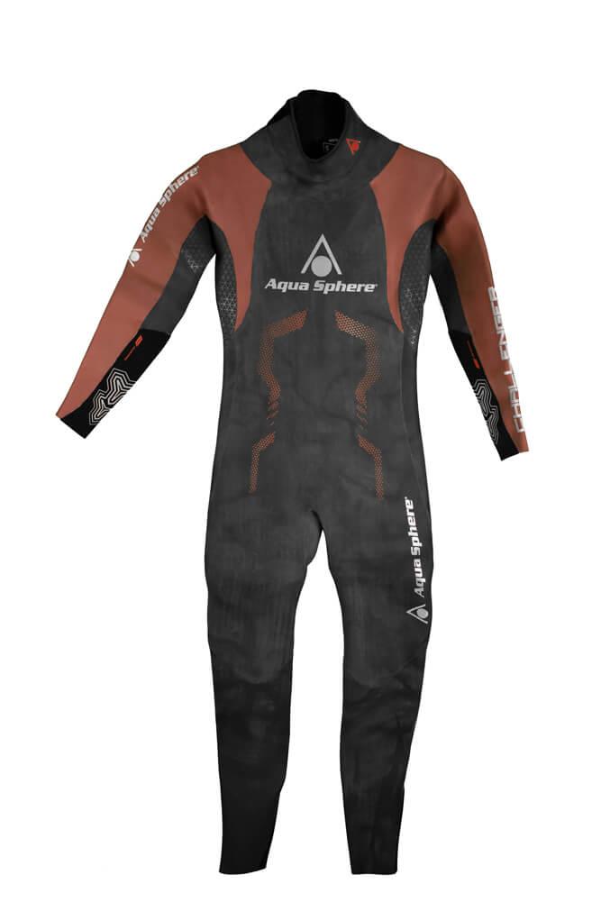 Roupa de Borracha Aqua Sphere Challenger 16 Suit Masculina