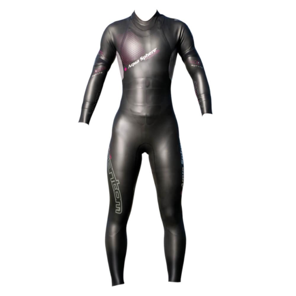 Roupa de Borracha Aqua Sphere Phantom 12 Wet Suit Feminina