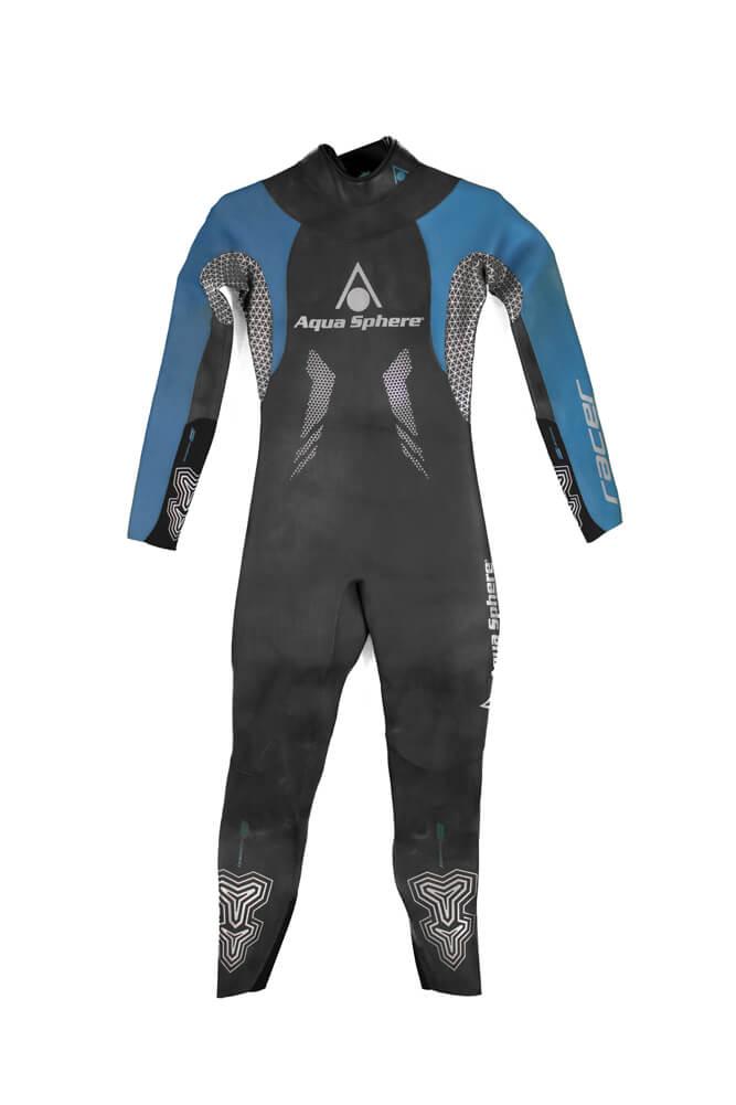 Roupa de Borracha Aqua Sphere Racer 16 Wet Suit Feminina