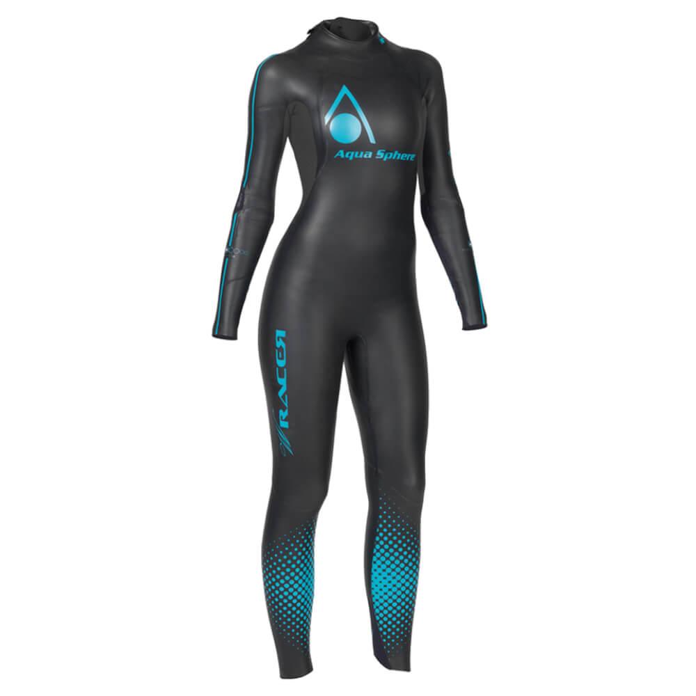 Roupa de Borracha Aqua Sphere W Racer 14 Wet Suit Feminina