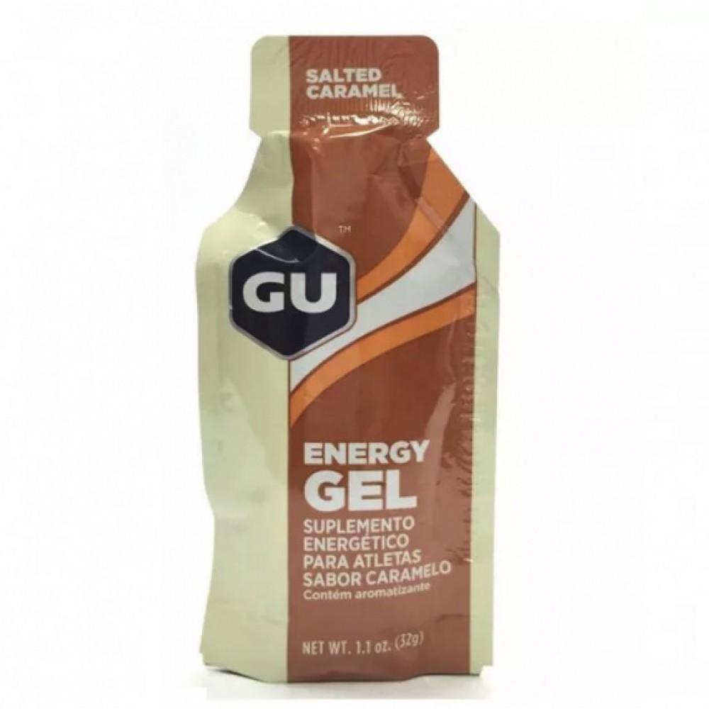 Sachê Gel Carboidrato Gu Energy Sabor Caramelo Salgado 32g