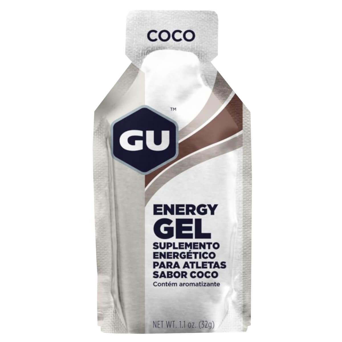 Sachê Gel Carboidrato Gu Energy Sabor Coco 32g