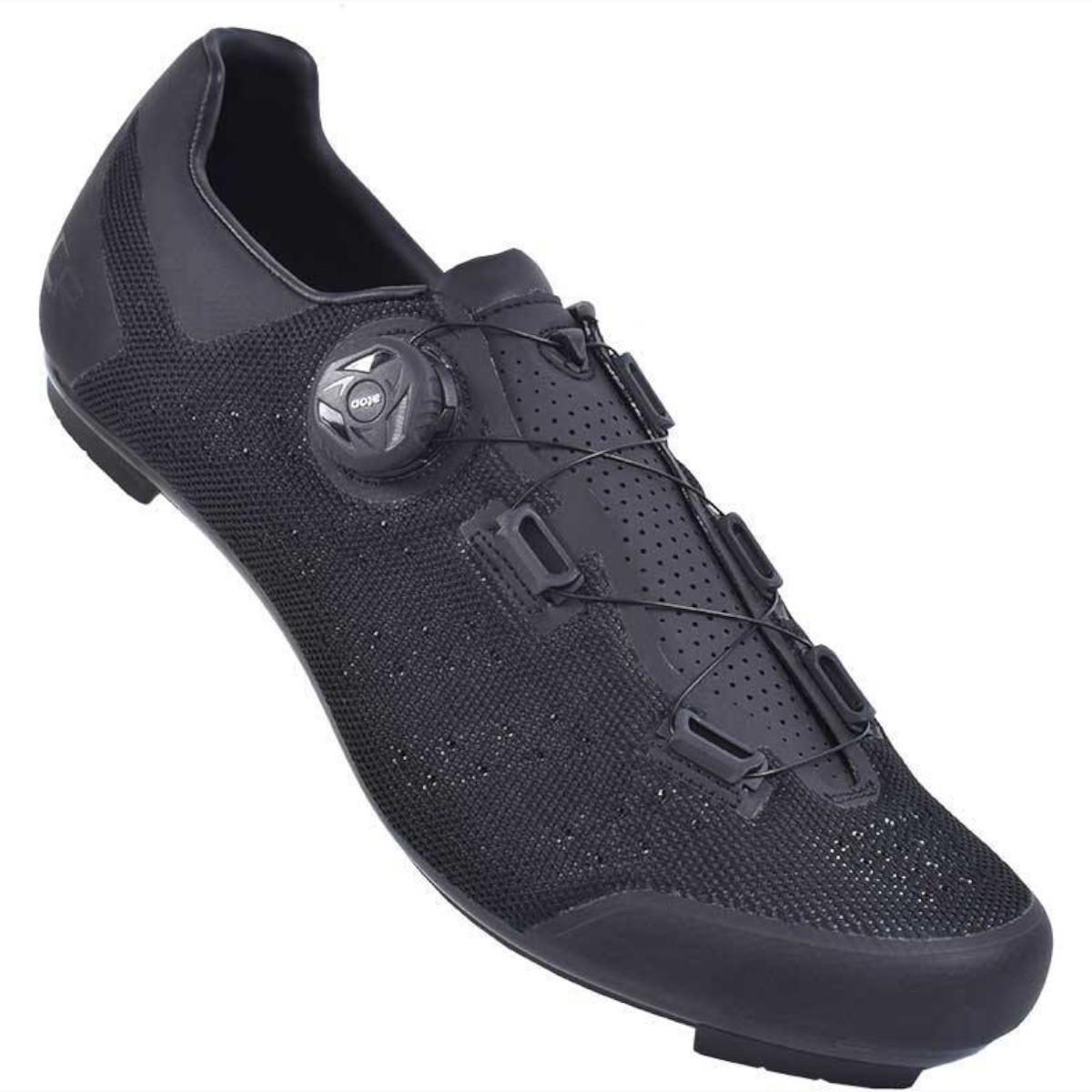 Sapatilha de Ciclismo Speed FLR Speed F-11 Knit Preta