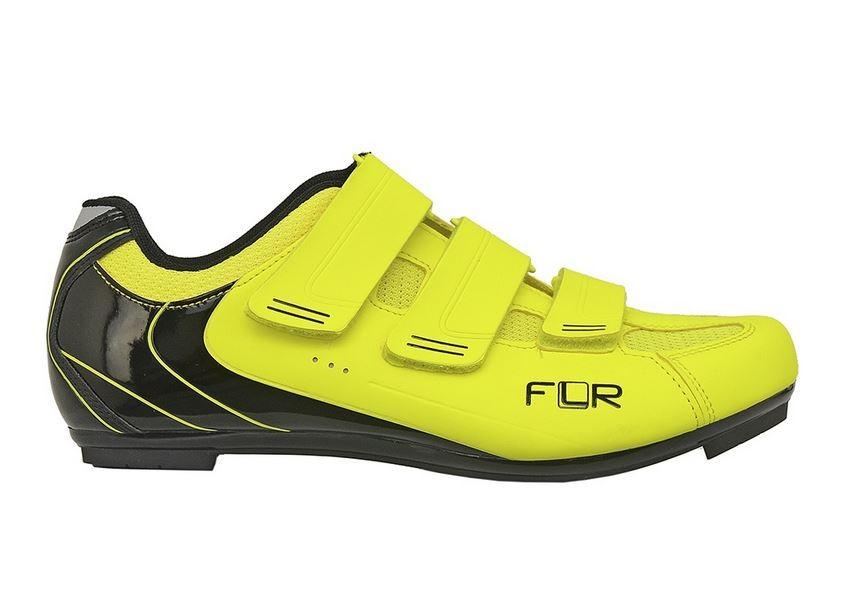 Sapatilha FLR Road F-35 Amarela Neon