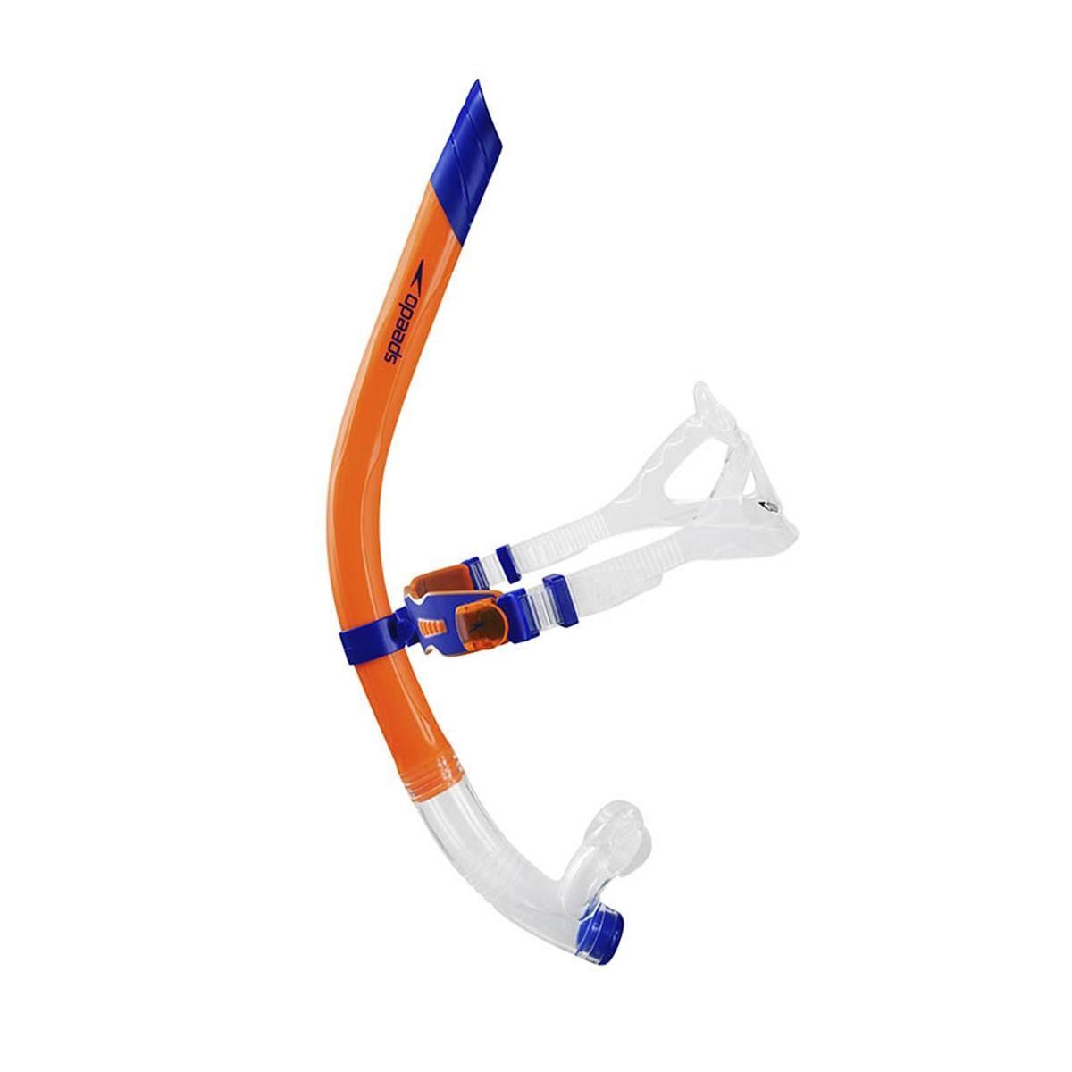 Snorkel Swim Fast Speedo Laranja e Azul