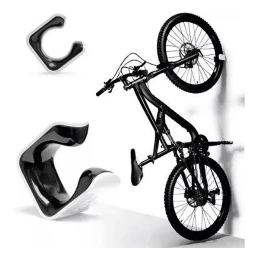 Suporte para Bicicleta Speed Clug 23mm a 32mm branco