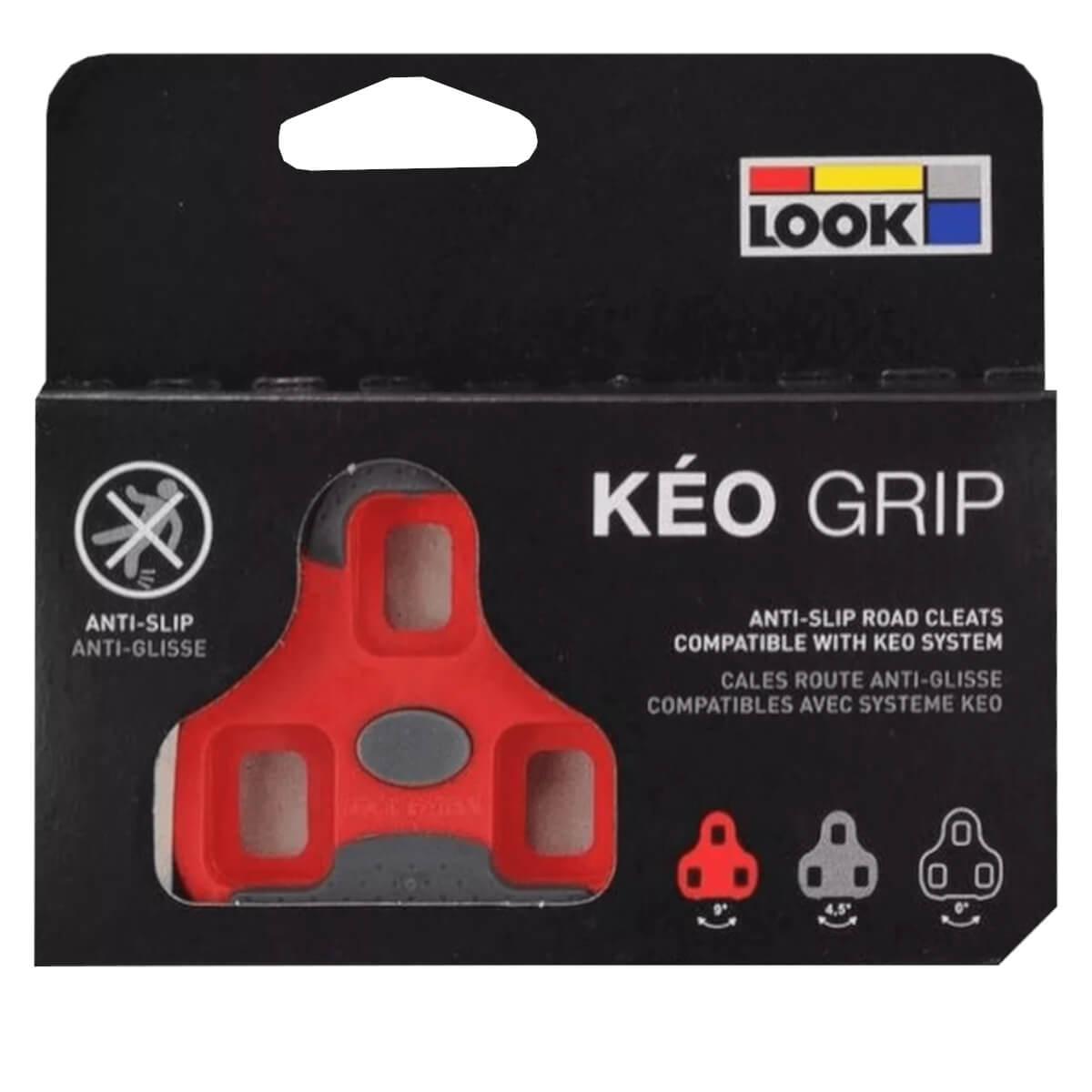 Taco Look Kéo Grip Vermelho Float 9 Graus Speed Anti Slip