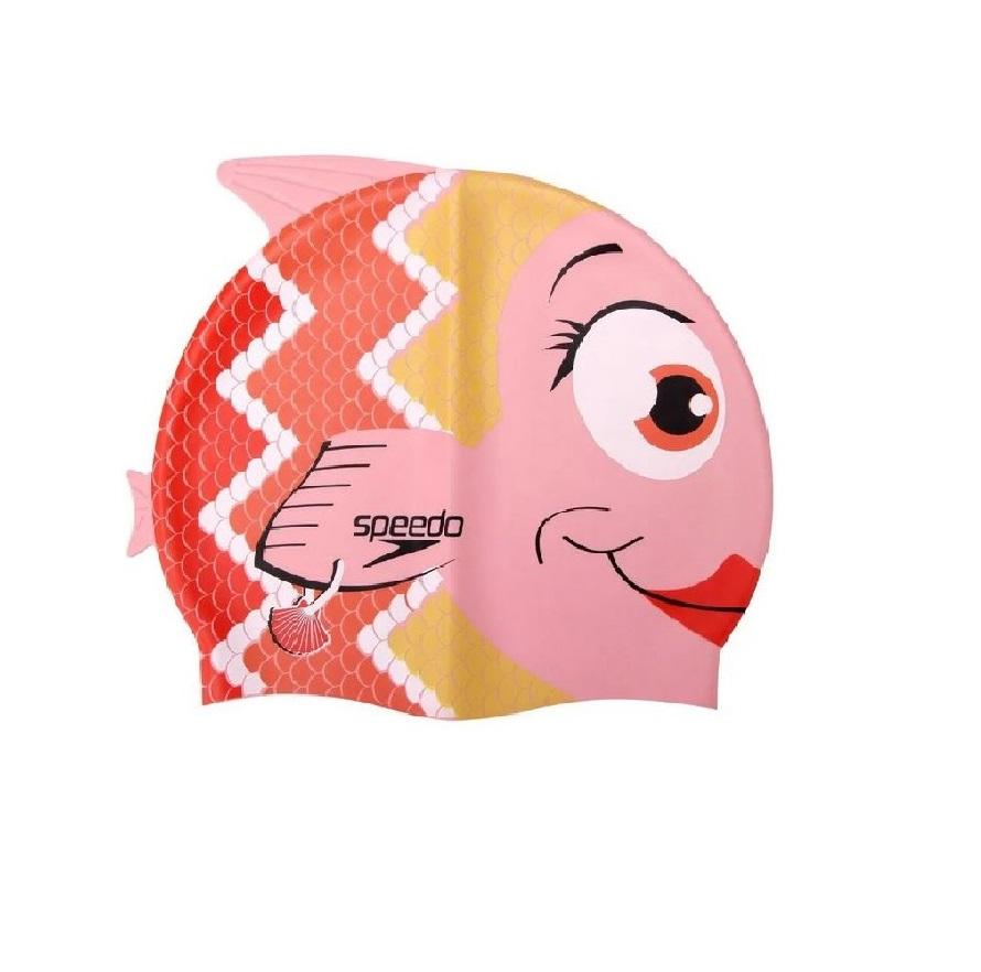 Touca de Natação Infantil Speedo Peixe Coral
