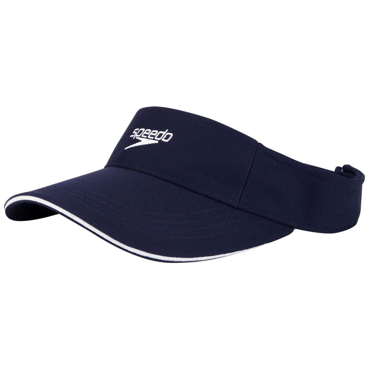 Viseira Boné Speedo Wave Para Esporte Corrida Azul Marinho