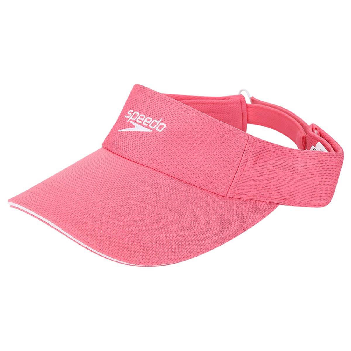 Viseira Boné Speedo Wave Para Esporte Corrida Rosa