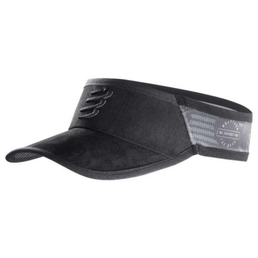 Viseira Compressport Spiderweb New Black Edition Preto