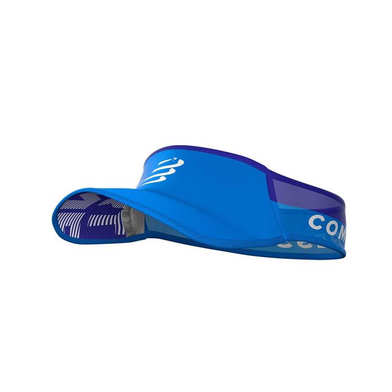 Viseira Compressport Ultralight Azul Claro Lançamento