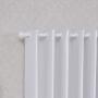 Cortina Corta Luz de Tecido 2,60x2,30m Branco Gelo - Bella Janela