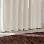Cortina Corta Luz de Tecido  2,60x2,30m Marfim- Bella Janela