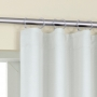 Cortina Corta Luz de Tecido Argola 4,20x2,80m Off White - Bella Janela