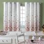 Cortina Cozinha Alegra 2,00x1,35 Morango - Adomes