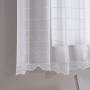 Cortina Duplex Cozinha Brisa 3,00x1,40 Branca - Bella Janela