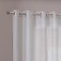 Cortina Duplex Melfi 4,20x2,30m Branco - Bella Janela