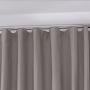 Cortina Inove Corta Luz de Tecido Blend Trilho Suisso 6,60x2,80m Taupe - Bella Janela