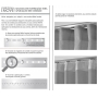 Cortina Inove Corta Luz de Tecido para Trilho Suisso 4,20x2,80 Branco - Bella Janela