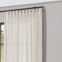 Cortina Inove Duplex Bruxelas para Trilho Suisso 5,40 x 2,80m Marfim Cor 11 - Bella Janela