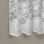 Cortina Portuguesa Branca 2,20x1,20 Provence - Interlar